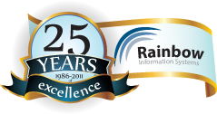 25 Years of Excellence - Rainbow Information Systems